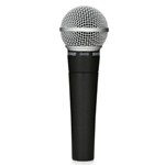 Shure SM58LC Dynamic Vocal Microphone with Cardioid Pickup Pattern and 50Hz-15kHz Frequency Response, Includes Stand Adapter, and Zippered Carrying Case