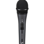 Sennheiser E825S Cardioid Handheld Dynamic Vocal Microphone with 80Hz-15kHz Frequency Response and Silent On/Off Switch