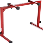 K&M 18810.015.91 Omega Pro Keyboard Stand - Red