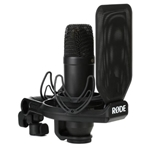 Rode NT1AI1KIT Complete Studio Kit; NT1, Ai-1 USB Audio Interface, SMR Shockmount and Pop Shield and XLR Cable
