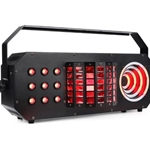 ADJ BOOM BOX FX 3 3-FX-IN-1 Party Effect, Mini Dekker effect Matrix, TRI Color Effect, LED Visual Ring