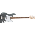 Squier 0370760581 Affinity Series Jazz Bass, Slick Silver