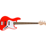 0370760570 Squier Affinity Jazz Bass Laurel Fingerboard, Race Red
