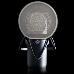 Aston AST-ELEMENT Side-fire single pattern cardioid microphone. Includes schock-mount and popfilter.