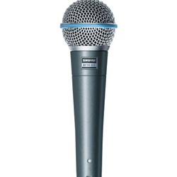 Shure BETA58A Supercardioid Dynamic With High Output N